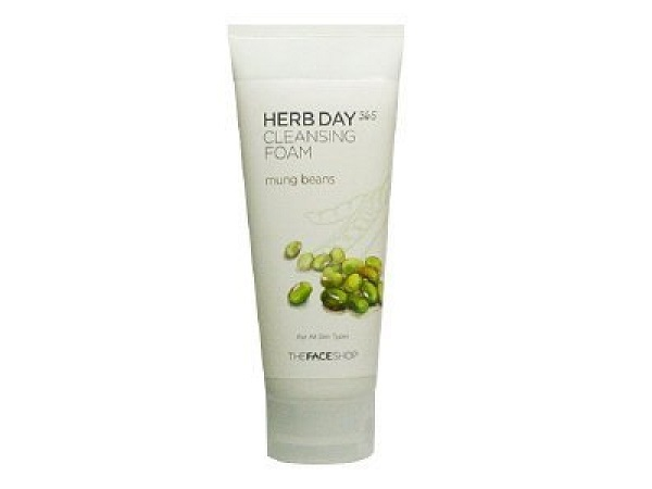 [Best Seller] Sữa rửa mặt Herb Day 365 Cleansing Foam The Face Shop