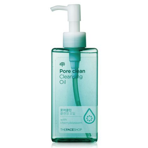 Dầu tẩy trang thanh lọc da Oil Specialist Pore Clean Cleansing Oil The Face Shop (200ml)