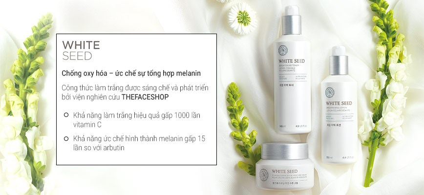 Tinh Chất Dưỡng Trắng White Seed Brightening Serum The Face Shop