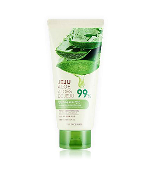 Gel dưỡng da nha đam mát da Jeju Aloe Fresh Soothing Gel The Face Shop (300ml)