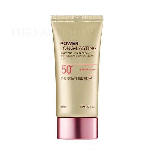 Kem chống nắng nâng tone Power Long Lasting Pink Tone Up Sun Cream SPF50+ PA++++ (50ml)