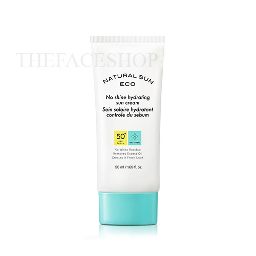 Kem chống nắng Natural Sun Eco No Shine Hydrating Sun Cream SPF50+ PA+++ (50ml)
