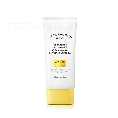 Kem chống nắng Natural Sun Eco Super Perfect Sun Cream EX SPF50+ PA++++ The Face Shop