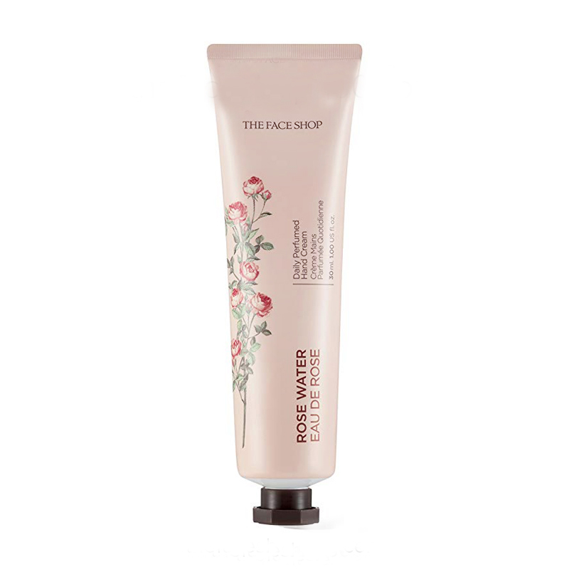 Kem dưỡng da tay hoa hồng Daily Perfumed Hand Cream 01 Rose Water The Face Shop (30ml)