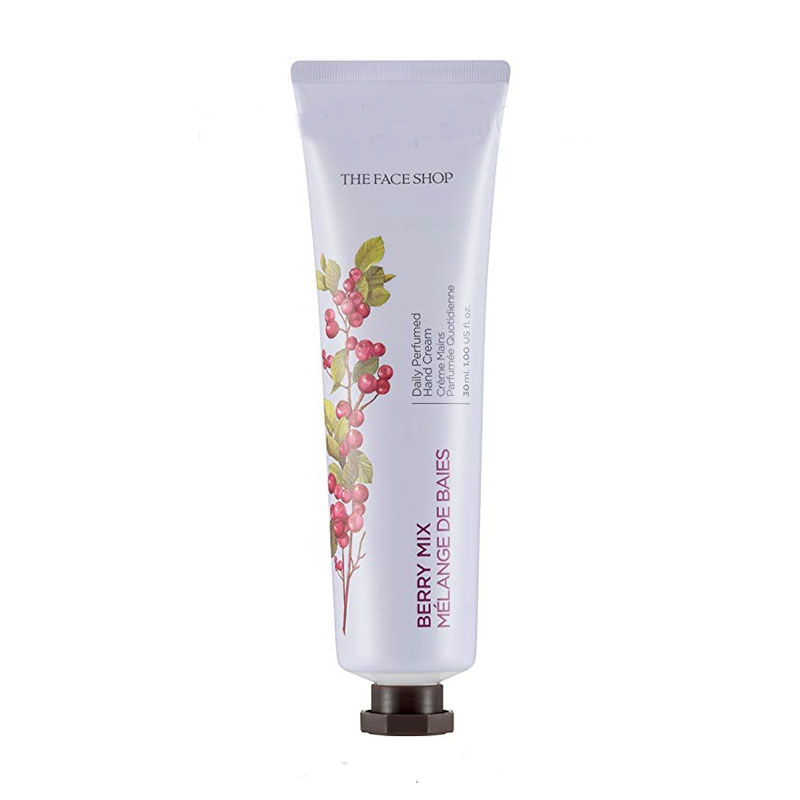 Kem dưỡng da tay Mâm xôi Daily Perfumed Hand Cream 04 Berry Mix The Face Shop (30ml)