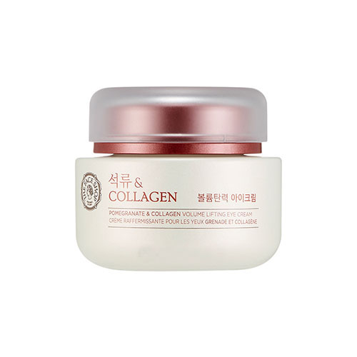 Kem dưỡng mắt Pomegranate And Collagen Volume Lifting Eye Cream TheFaceShop