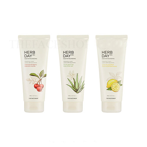 Kem tẩy trang Herb Day 365 Master Blending Cleansing Cream The Face Shop (170ml)