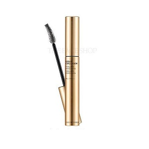 Mascara kiêm dưỡng mi Gold Collagen Volume Mascara The Face Shop