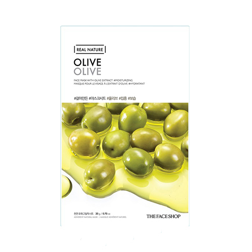 Mặt nạ dầu Ôliu Real Nature Olive The Face Shop (Mới)