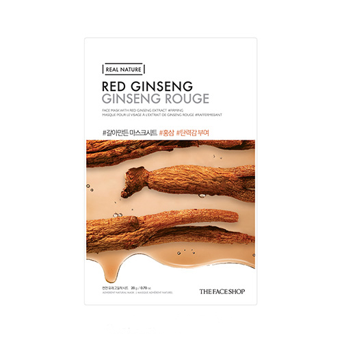 Mặt nạ Hồng Sâm Real Nature Red Ginseng The Face Shop