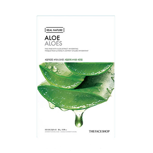 Mặt nạ nha đam Real Nature Mask Aloe The Face Shop (Mới)