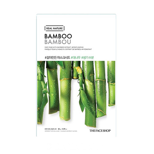 Mặt nạ Tre non Real Nature Mask Bamboo TheFaceShop