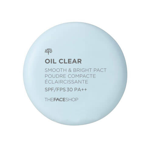 Phấn phủ kiềm dầu Oil Clear Smooth & Bright Pact TheFaceShop