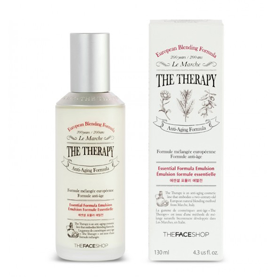 Sữa dưỡng The Therapy Essential Formula Emulsion The Face Shop