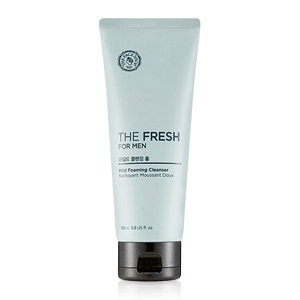 Sữa rửa mặt kiềm dầu cho nam The Fresh For Men Mild Foaming Cleanser The Face Shop