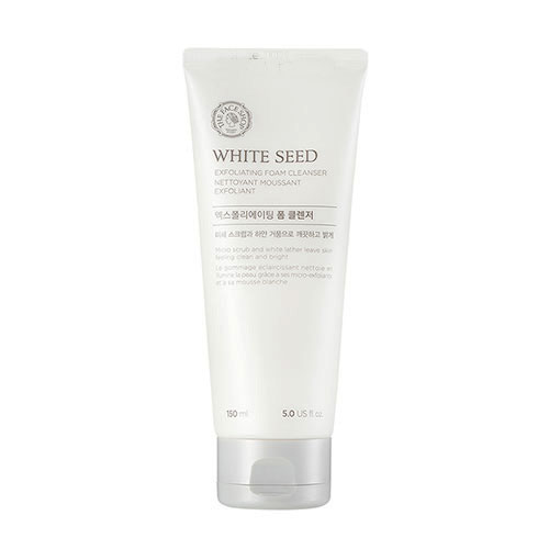 Sữa rửa mặt trắng da White Seed Exfoliating Foam Cleanser The Face Shop (150ml)