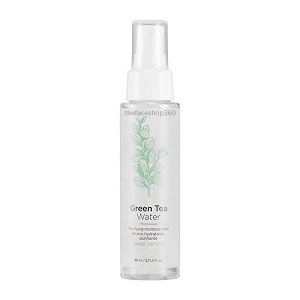 Xịt khoáng Trà Xanh Green Tea Water Purifying Moisture Mist The Face Shop (80ml)